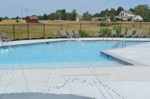 bluestem neighborhood pool by ken jansen