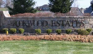 brookwood estates monument in overland park ks