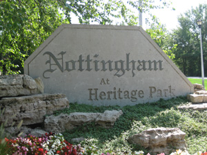 Nottingham at Heritage Park neighborhood in Olathe KS
