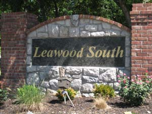 Leawood South subdivision in Leawood KS